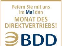"""BDD feiert im Mai 2018 """"Monat des Direktvertriebs"""""""
